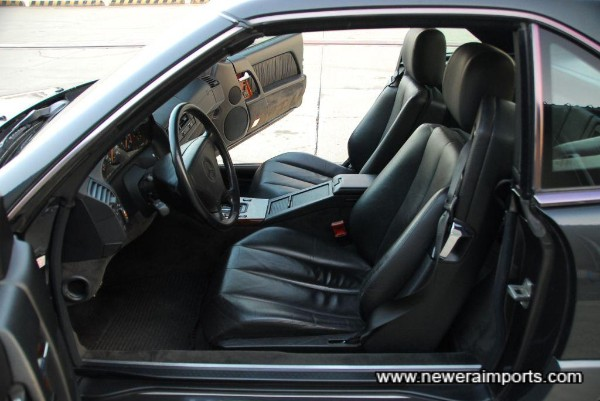 Interior is in as new condition in keeping with low genuine mileage.