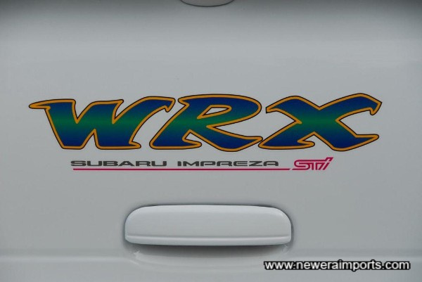 New rear decals - just fitted.