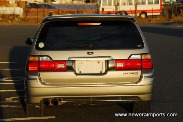 Facelift model carries updated rear light set.
