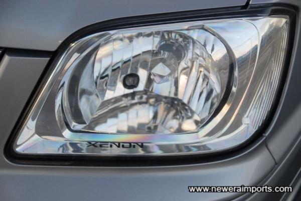 Xenon HID headlights.