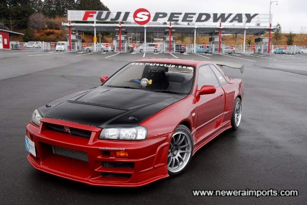 This is the first and only Bee-R 324 GT-R we've ever had in stock!!