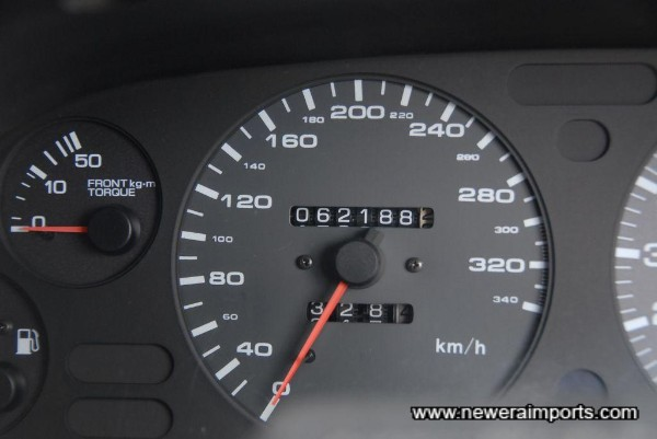 Odometer shows km - Nismo clocks fitted since near new. Documented.