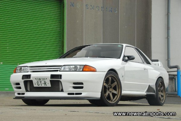 Fitted with all the best cosmetic parts available in Japan.