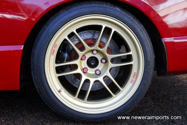 Biot large rear disc conversion.