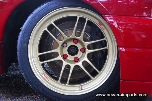 AP Racing 6 piston front brake kit!