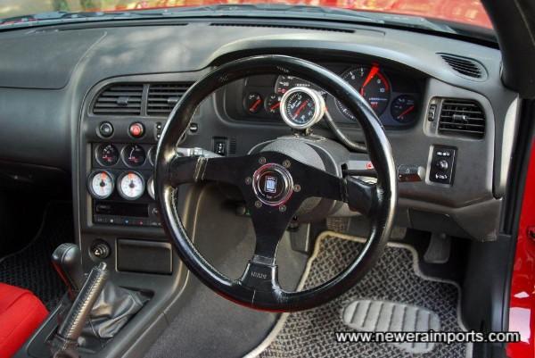 Nardi classic steering wheel.