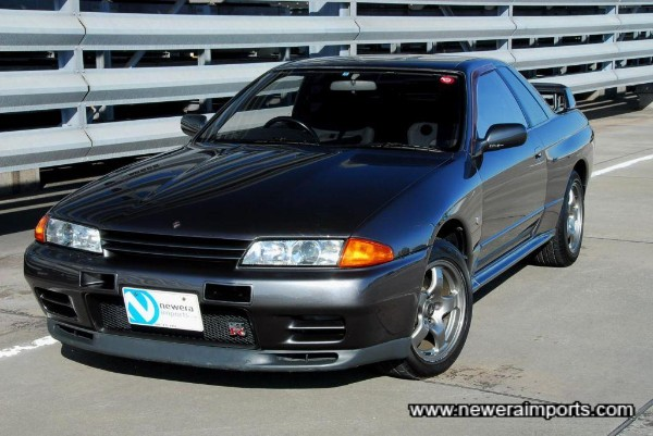 A very well preserved completely original R32 GT-R!