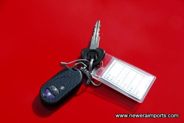 Alarm central locking & original key.