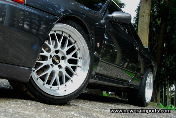 BBS LM's are in stunning condition.