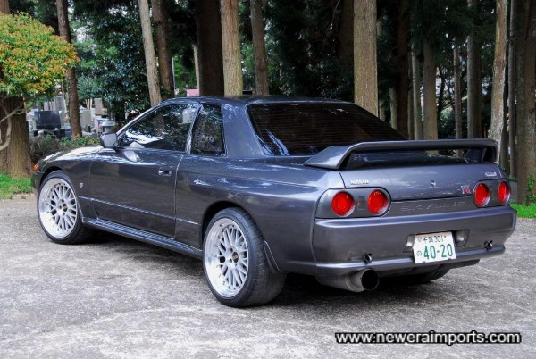 18 inch BBS LM's suit this car perfectly!