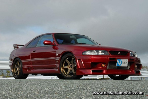 One of the best looking R33 GT-R's we've ever had.