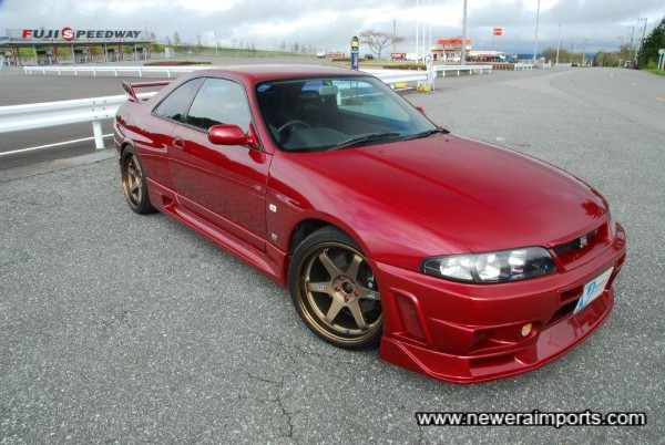 It's usually impossible to find an R33 GT-R this good nowadays.