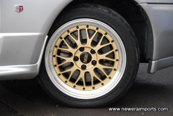 BBS LM's are some of the most desirable wheels for a GT-R.