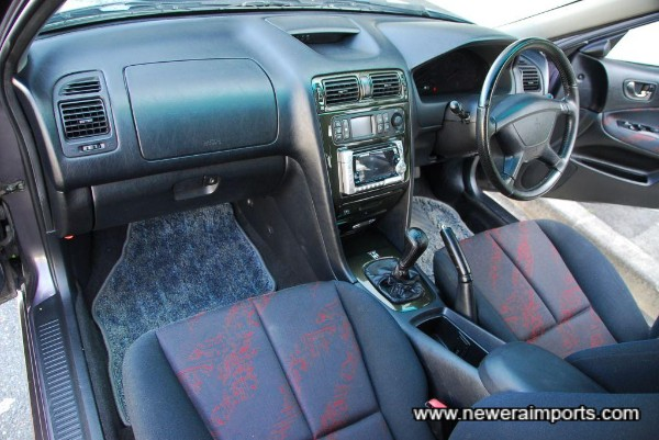 Facelift interior.
