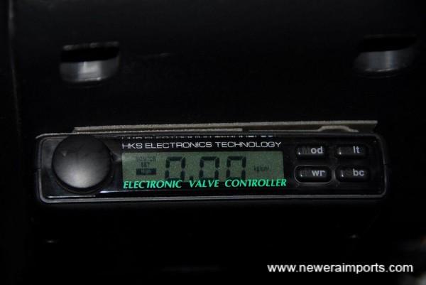 HKS EVC3 Boost controller.