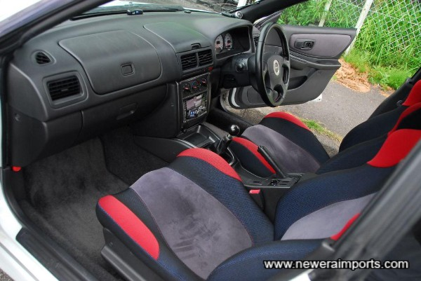 Interior is in excellent original condition - this car's never been smoked in since new!