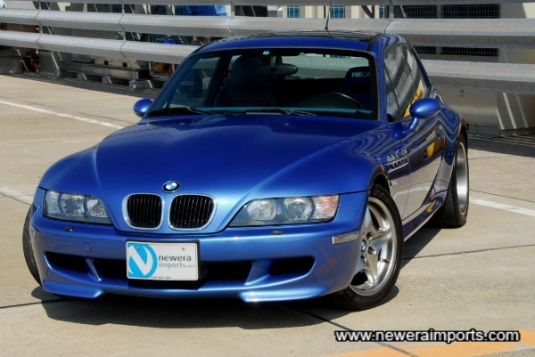 Stunning condition Z3 M coupe.