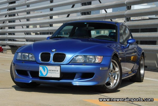Condition of this car is like that of near new. Will be one of the BEST condition Z3M's in Europe shortly.