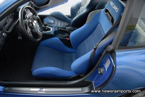 Recaro SPG seat.