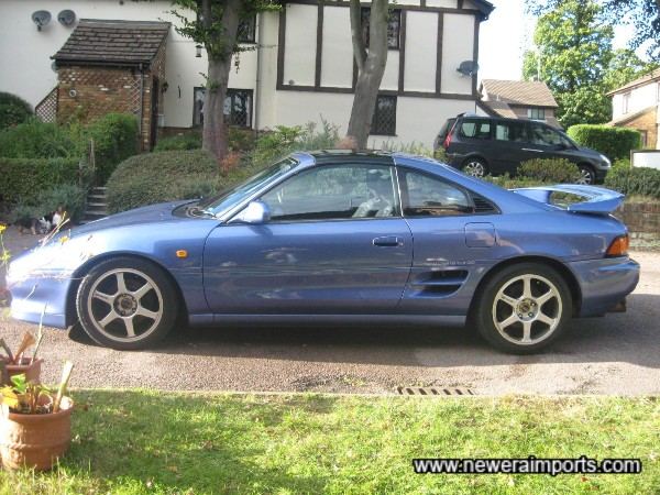 A very rare spec of MR2!