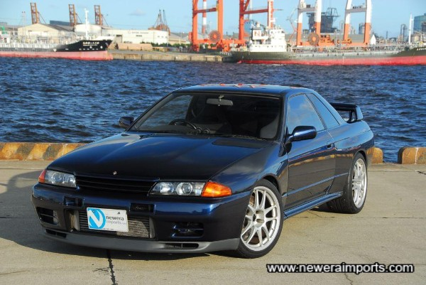 A stunning example & very rare spec of R32 GT-R!