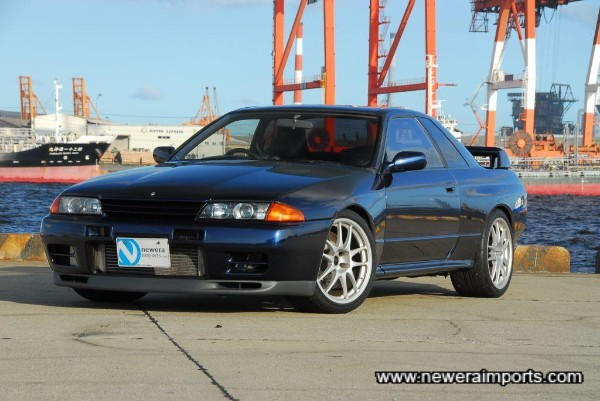 This is only the second dark blue (TH1) R32 GT-R we've sourced - ever!