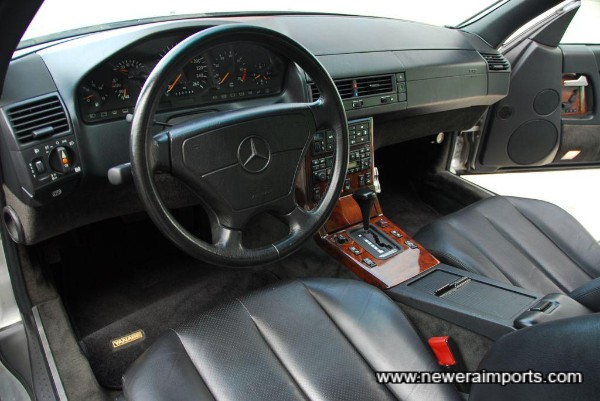 All original interior - right down to the hifi system!