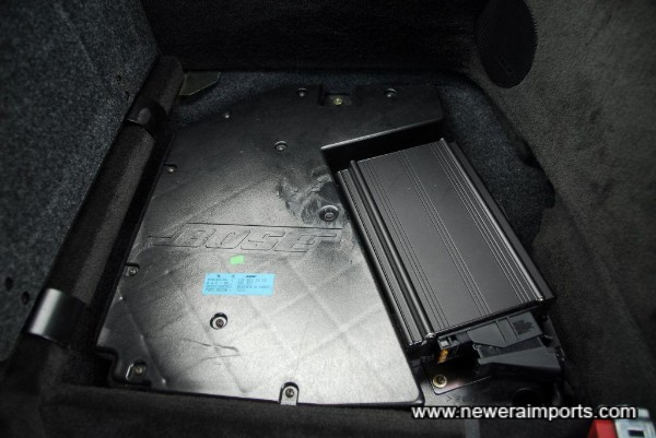Original Bose sub woofer system.