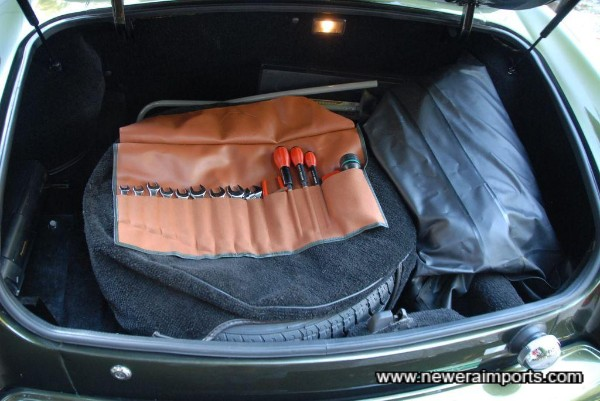 Contents in the boot are all original and complete.