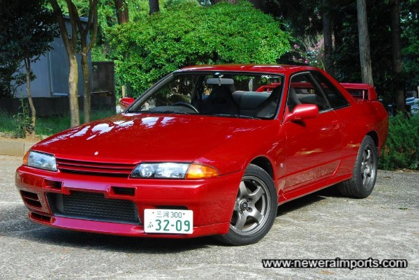 Stunning paintwork condition on this R32 GT-R.
