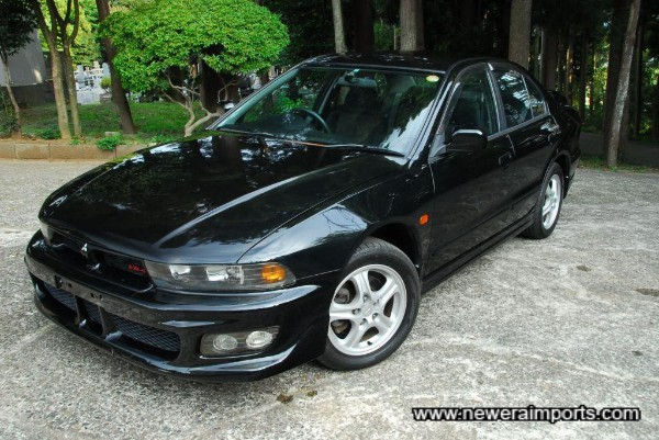 Low mileage & rare Galant VR-4 5 Speed manual facelift in black!