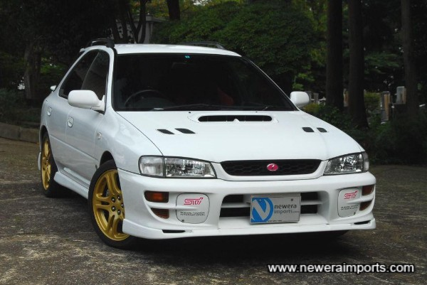 Stunning condition & rare Impreza Version 5 Sti Sports Wagon.