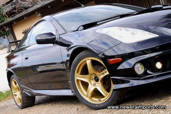 ADVAN Racing RCII wheels.