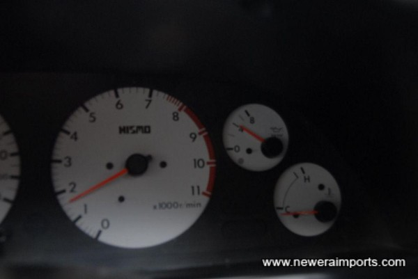 Oil pressure when cold - a sign of a healthy engine.