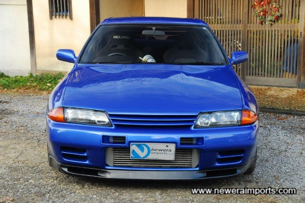 Nismo front bumper and bonnet lip with N1 headlights (HID)