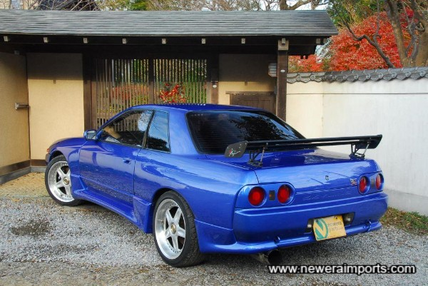 Bayside blue suits this car well.