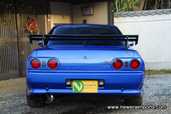 ARC R32 GT-R rear GT wing - Very rare & highly sought after.