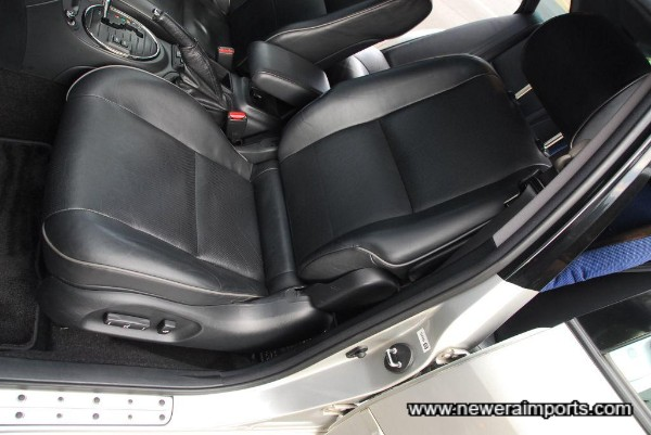 Seats are in excellent condition in keeping with low original mileage.