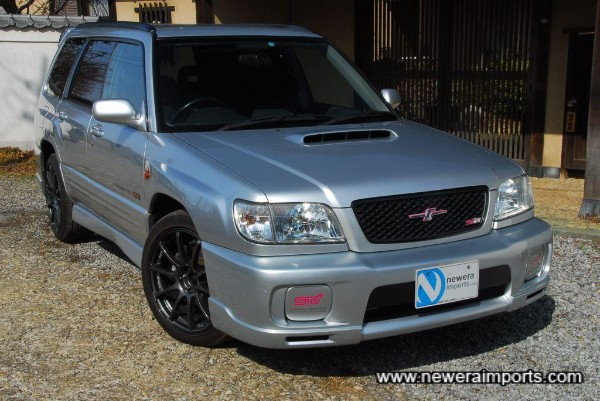 Sti II Type M bumper is unique to this model (Only 800 made for Japan).
