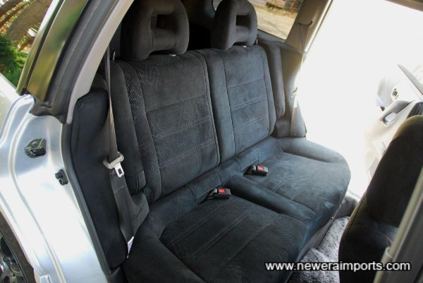 Seats are all in excellent condition.
