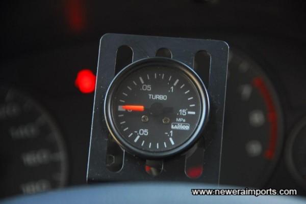 Boost gauge.