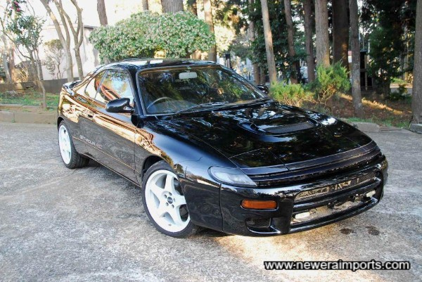 Stunning condition & very rare Black Celica GT-4 RC.