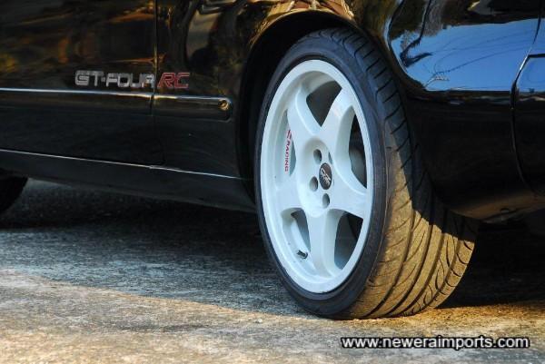 Tyres are Yokohama DNA S-drive.