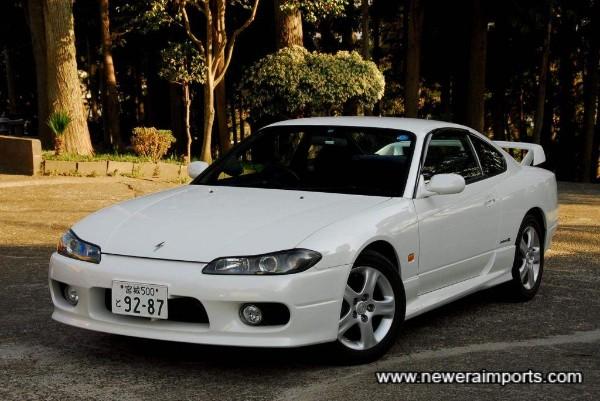 Stunning original condition S15 Silvia Spec R.