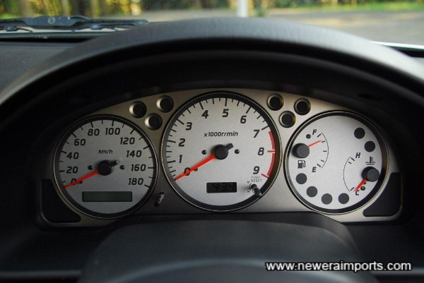 Polariser was on, so LCD was darkened - we will supply customer with another picture to show current odometer reading.