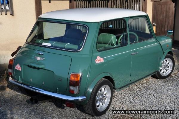 A classic mini!