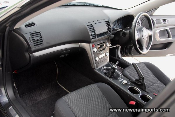 Interior is in excellent condition throughout in keeping with low mileage.