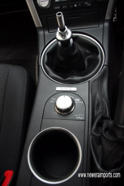 Original shift knob is included but not shown in pictures.