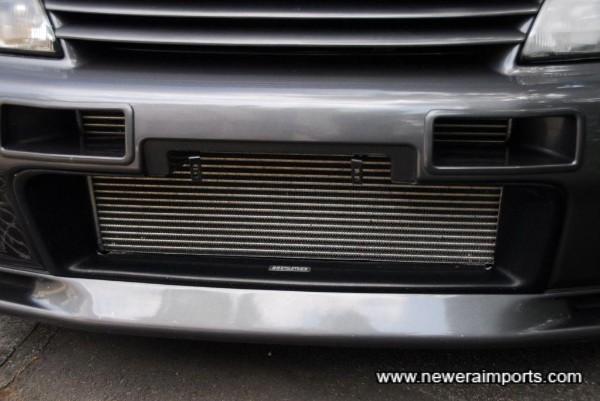 Genuine Nismo Intercooler shroud & intercooler vents!