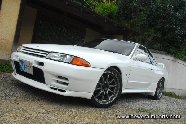 Prodrive GC-010 forged alloy wheels with near new Advan Neuva AD07 Sports tyres!